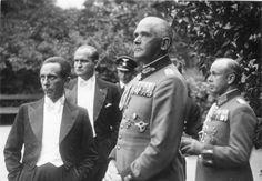 Werner von Blomberg and Josef Goebbels, July 1937.