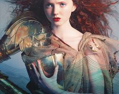 Lily Cole + Grace O'Malley, Pirate Queen of the Irish Seas