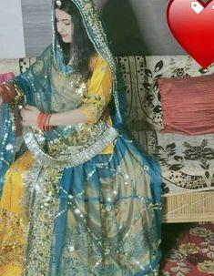 Party Wear Lehenga, Bridal Lehenga, Bandhini Dress, Stylish Dresses, Fashion Dresses, Rajasthani Dress, Rajputi Jewellery, Rajputi Dress, Indian Designer Suits