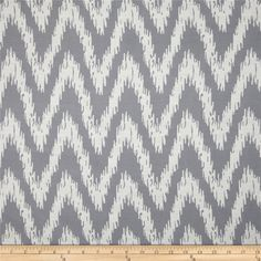 Eroica Spear Jacquard Silver from @fabricdotcom  Refresh and modernize any piece of furniture with this heavyweight jacquard fabric, perfect for window treatments, accent pillows, upholstering furniture, headboards and ottomans. Colors include off white and grey.