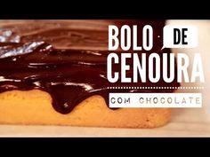 Bolo de Cenoura com Chocolate #TorradaTorrada