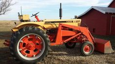 CASE 730 Comfort King with loader. My father have the same.