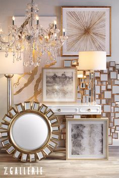 Curate your style with our latest art, lighting, and mirrors from our Spring 2016 collection. Explore hundreds of styles on zgallerie.com.