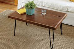 How to Build a Hairpin-Leg Coffee Table