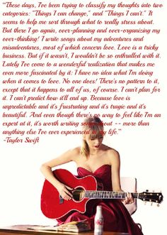 Taylor Swift quote <3