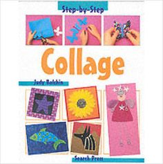 STEP BY STEP COLLAGE CHILDRENS BOOK BRAND NEW £3.49+FREE POSTAGE