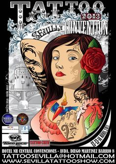 2ª Sevilla Tattoo Convention | Tattoo Filter. Tattoo Filter is a tattoo community, tattoo gallery and International tattoo artist, studio and event directory.