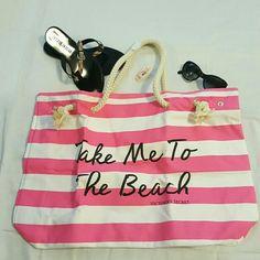Selling this Victoria's Secret Tote Bag in my Poshmark closet! My username is: dlm222. #shopmycloset #poshmark #fashion #shopping #style #forsale #Victoria's Secret #Handbags