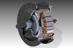 Golden Motor 250W geared hub motor for front bicyclewheel (Minimotor)