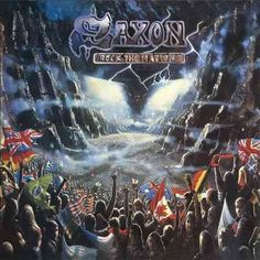 Saxon - Rock The Nations, Black