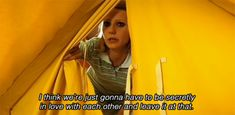 THE ROYAL TENENBAUMS - I think we're gonna have to be secretly in love with each other and leave it at that.