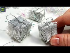MINI Presents ★ Christmas decorations with his own hands! - YouTube