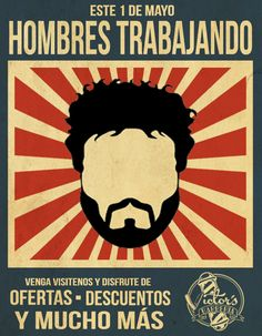 Event Poster made for our client Victor's Barbería