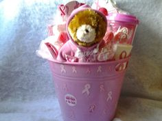 Breast Cancer Awareness Gift Basket  --  Currently Available for purchase on eCRATER.com