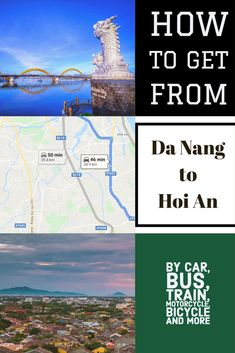 Da Nang and Hoi An are only 30 minutes apart but seem like a world away. One is an amazing UNESCO World Heritage site while the other is a big bustling beach city. We have all the information you need to travel between these two cities  Vietnam travel | Vietnam attractions | Hoi An old town | Da Nang beaches | what to see in Da Nang  #travel #asia #seasia # Vietnam #unesco #grab