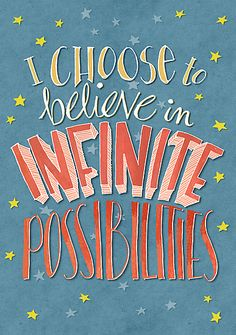 Never stop believing with this print by Redbubble artist Mariana Musa, available on totes, throw pillows, stickers and more.