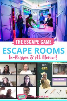 Escape rooms are fun for kids, teens and adults! And now you can experience the thrill of solving escape room clues and puzzles from home as well as in themed spaces. Looking for family-friendly activities at home? Take a look at these escape room virtual games and board game! #escaperoom #kidactivities #funathome