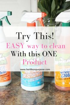 easy way to clean your kitchen, appliances, and even your garage. Use these mean green cleaner products for an easy way to clean your oven and microwave. It will also get rid of soap scum and mildew in your bathroom. #cleaning #cleaninghacks ##kitchenorganization #household #garageorganization  #springcleaning