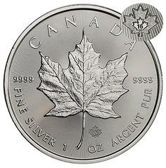 Coin: 2016 Ca Maple Leaf $5 Brilliant Uncirculated