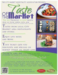 Taste of the Market Salutes Heroes on 5/15