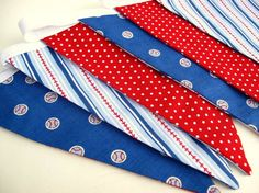 Baseball Party Pennant / Bunting / Flags by TheSweetLifebyDesign Baseball Fabric, Baseball Quilt, Baseball Party, Bunting Flags, Bedroom Themes, Birthday Celebration, Blankets, Baby Boy, Baby Shower