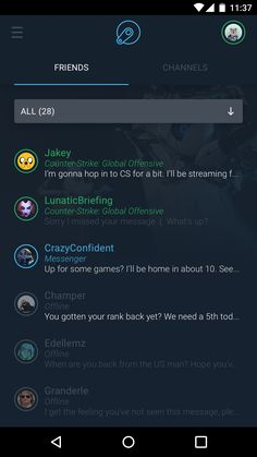 Android steam chat 1