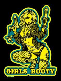 イラスト・セクシーガール Tシャツ用です。 | イラストレーターKENTOO(アメコミ、アメリカンポップ) Character Art, Character Design, Rock Poster, Goth Art, Illusion Art, Flash Art, Pin Up Art, Erotic Art, Cartoon Art