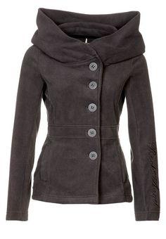 Rock Angel Fleece Grey Jacket