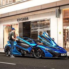 wrapped mclaren p1 #McLarenSupercar