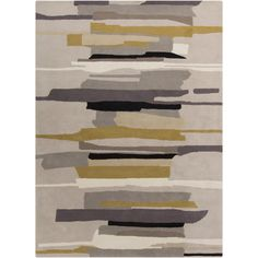 Home Decorators Collection - Wool - Area Rugs - Rugs - The Home Depot Modern Area Rugs, Contemporary Area Rugs, Black Rug, Hand Tufted Rugs, Monochrom, Carpet Design, Grey Rugs, Floor Rugs, Throw Rugs