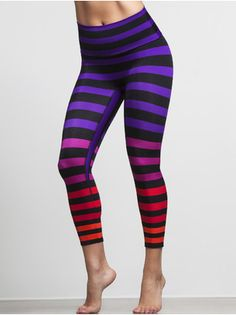 Bright and colorful leggings from Carbon38.