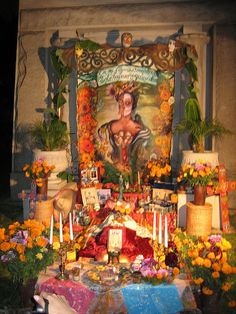 El Día de los Muertos celebrations in Mexico can be traced back to the indigenous cultures dating back hundreds of years and to an Aztec festival dedicated to a goddess called Mictecacihuatl