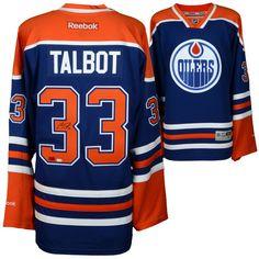 Cam Talbot Edmonton Oilers Fanatics Authentic Autographed Blue Reebok  Premier Jersey b523cba69