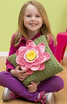 Spring Fling Pillow Crochet Pattern