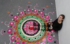 Dutch Artist Creates Astounding Kaleidoscope Art