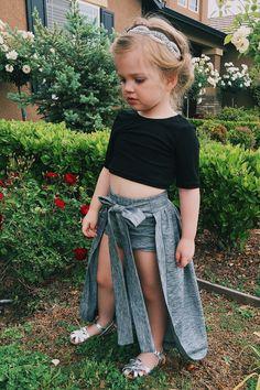 Toddler style  @littleposhco cape skirt