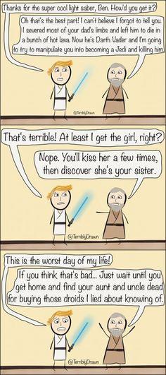 ben kenobi: the true villain of star wars ||