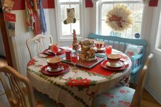Decorating a kitchen for Christmas