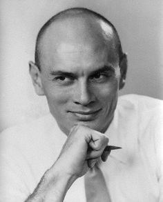 by Dorothy Wilding bromide print 27 April 1951 © National Portrait Gallery, London Herbert Lom, Wax Statue, Romanian Girls, Yul Brynner, Music Theater, Theatre, Famous Names, Renaissance Men, Shaved Head