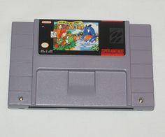 Super Mario World 2 II Yoshi's Island Super Nintendo SNES Game Tested Very Clean