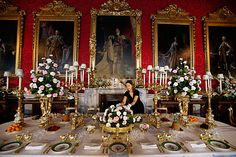 inside buckingham palace the queen's bedroom - Google Search
