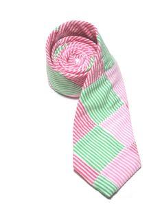 Palm Beach Patchwork Necktie