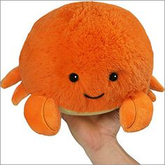 Mini Squishable Crab! Tanya K.'s winning Open Squish design! #squishable #opensquish