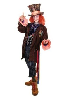 Alice in Wonderland Authentic Mad Hatter Costume - #halloweencostumes #Halloween #Coupons #Deals