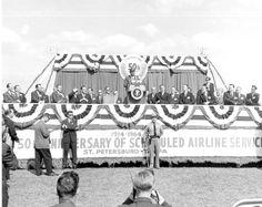 1963. 18 Novembre. Tampa, Florida. Jfk