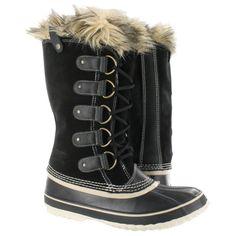 Sorel Women's JOAN OF ARCTIC black winter boots nl1540-010