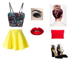 """""""Party"""" by arfinch05 ❤ liked on Polyvore featuring Jeremy Scott, Givenchy and Lime Crime"""