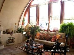 Arched walls and windows