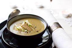Une recette inratable de Velouté de lentilles au foie gras et pomme granny Thermomix sur Yummix • Le blog culinaire dédié au Thermomix !