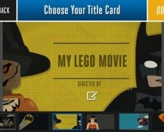 Make a Lego movie on your iPhone